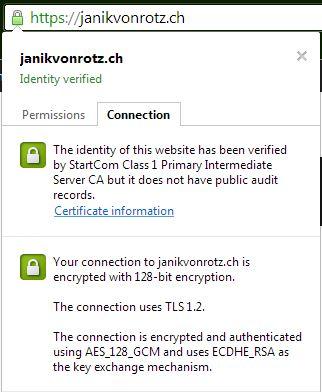 Janik von Rotz loves SSL