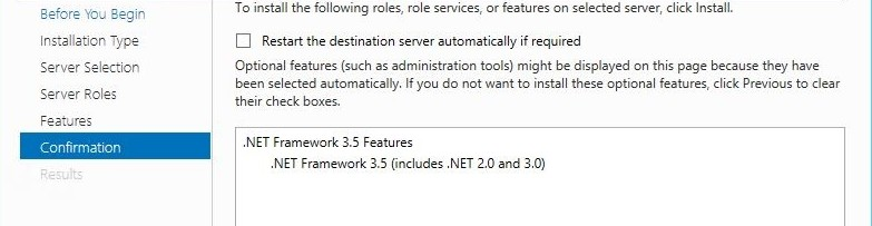 install .Net 3.5 on Windows Server 2012 R2