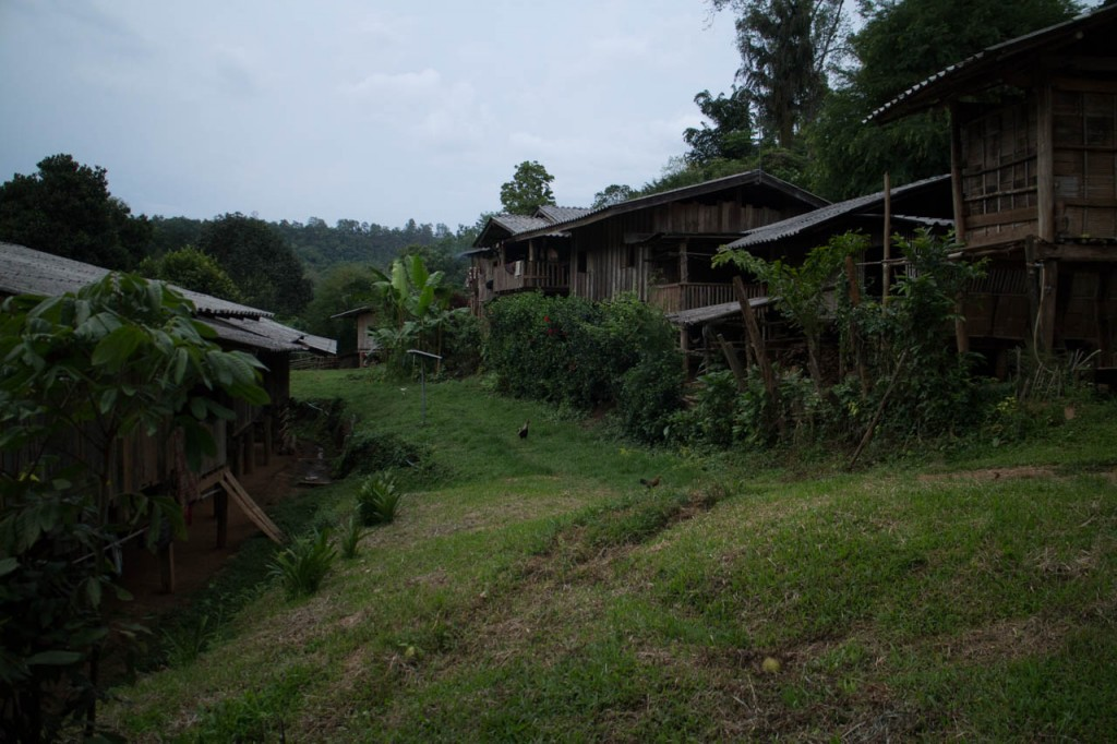 In this village of the northern hill tribes we spent our first night. A beautiful and peaceful place.
