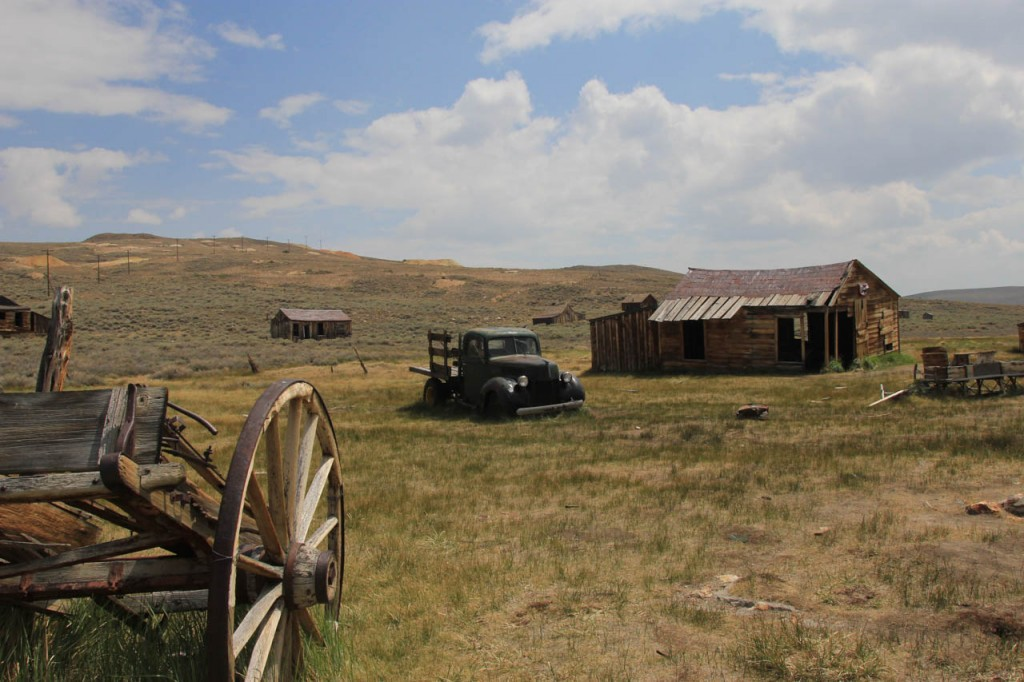 "Bodie is a ghost town which gives you a nice insight in the ""good ol times""."