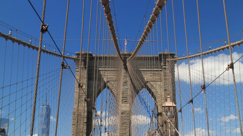 The Brooklyn bridge from another angle.