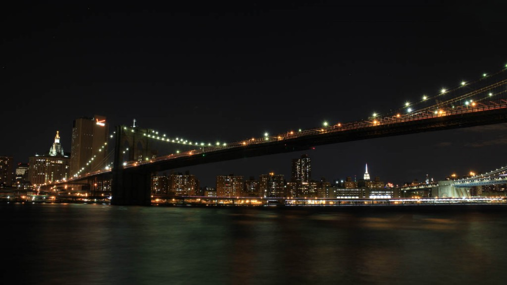 A nice district to go out is right next to the Brooklyn bridge.