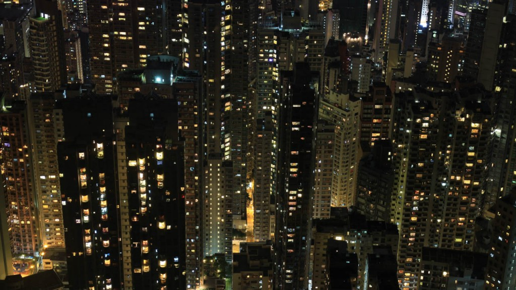 Hong Kong is the most crowded city in the world.