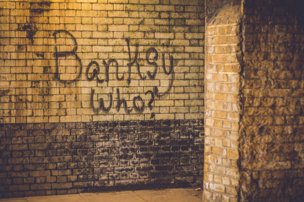 Who is that Banksy guy again?