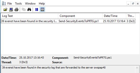 Janik Vonrotz - Forward Windows event log entries to syslog